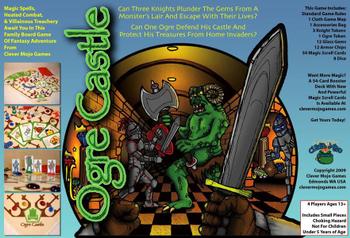 Ogre Castle board game