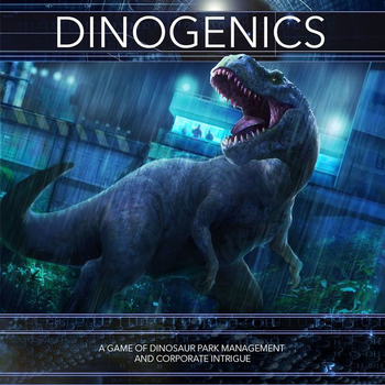 DinoGenics board game