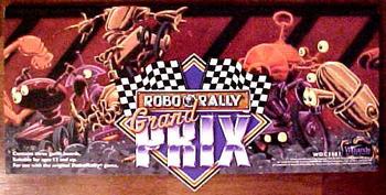 RoboRally: Grand Prix board game