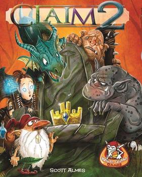 Claim 2 board game