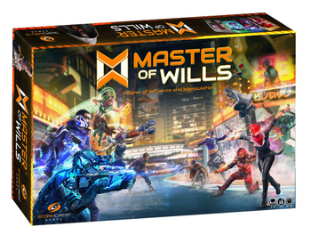 Master of Wills board game