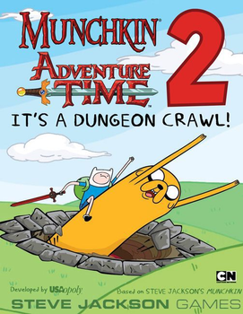 Munchkin Adventure Time 2: It's a Dungeon Crawl! board game
