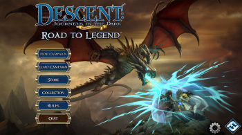 Descent: Journeys in the Dark (Second Edition) – Road to Legend board game