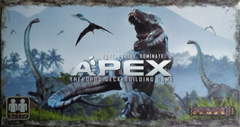 Apex Theropod Deck-Building Game board game