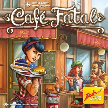 Café Fatal board game
