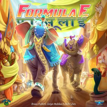 Formula E board game
