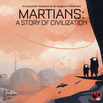 Martians: A Story of Civilization board game