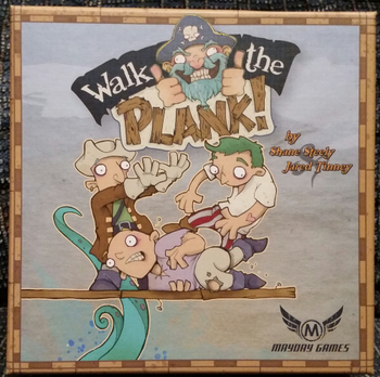 Walk the Plank! board game