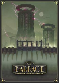 Barrage board game