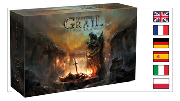 Tainted Grail: The Fall of Avalon board game