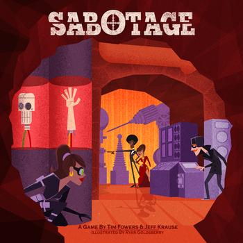 Sabotage board game