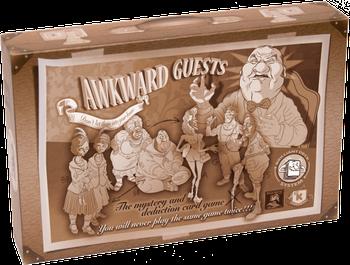 Incómodos Invitados board game