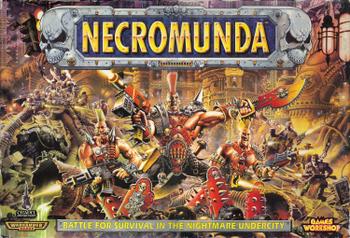 Necromunda board game