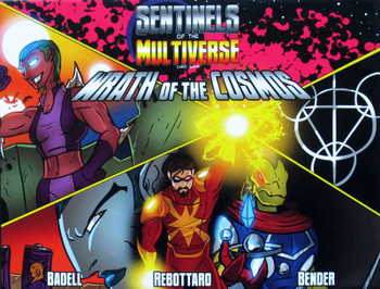 Sentinels of the Multiverse: Wrath of the Cosmos board game