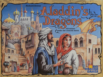 Aladdin's Dragons board game