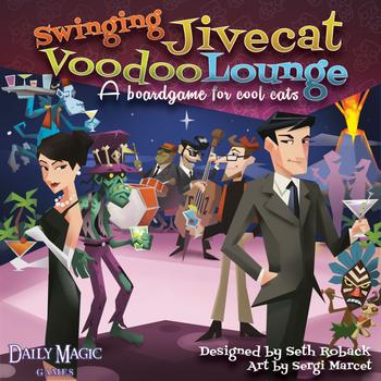 Swinging Jivecat Voodoo Lounge board game