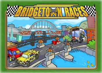 Bridgetown Races board game