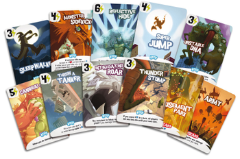 King of Tokyo: Promo Cards board game