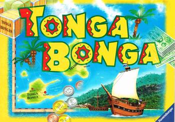 Tonga Bonga board game