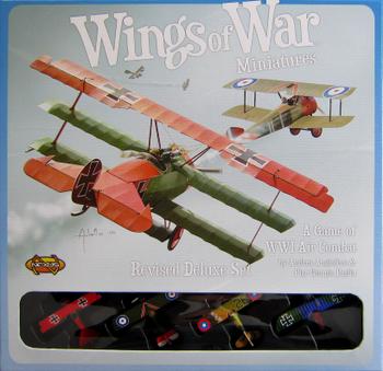 Wings of War: Deluxe Set board game