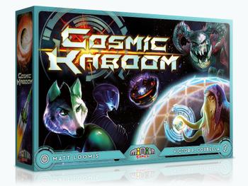 Cosmic Kaboom board game