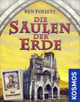 Die Säulen der Erde: das Kartenspiel board game