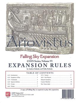 Falling Sky: The Gallic Revolt Against Caesar – Ariovistus board game