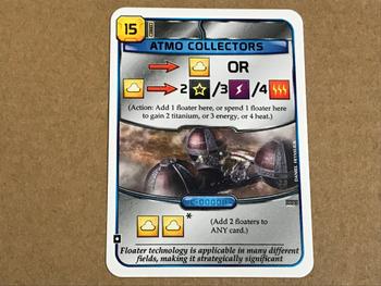 Terraforming Mars: Atmo Collectors Promo Card board game