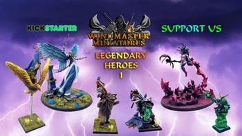 Legendary Heroes I board game