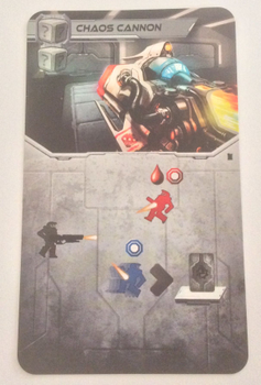Adrenaline: Chaos Cannon board game