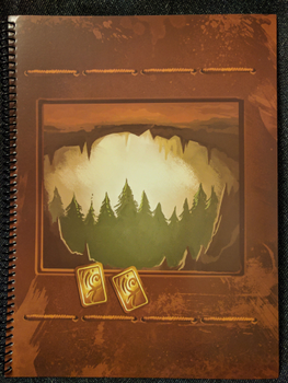 Above and Below: Desert Labyrinth and Underforest Encounter Book board game