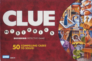 Clue Mysteries board game