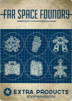 Far Space Foundry: Extra Products Expansion board game