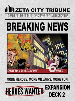 Heroes Wanted: Breaking News board game