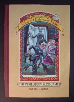 The Perilous Parlor Game board game