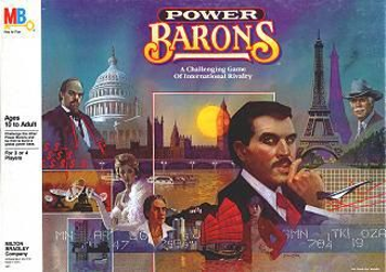 Power Barons board game