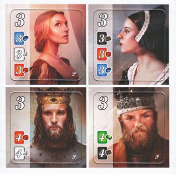 Splendor: Nobles Promo Tiles board game