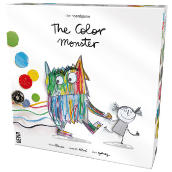 The Color Monster board game