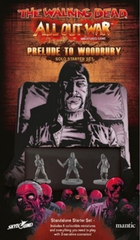The Walking Dead: All Out War – Prelude to Woodbury Solo Starter Set board game