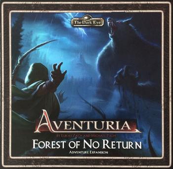 Aventuria: Forest of No Return board game