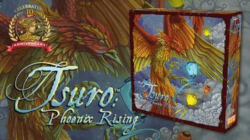 Tsuro: Phoenix Rising board game