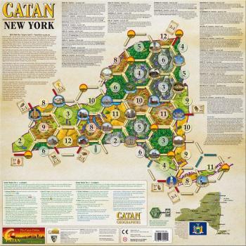 Catan: New York board game