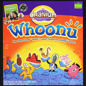Cranium Whoonu board game