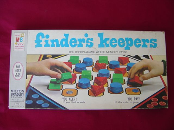 Finder's Keepers board game