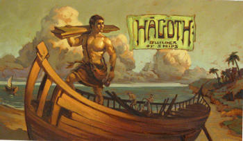 Hagoth: Builder of Ships board game