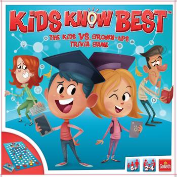 Kids Know Best board game