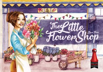The Little Flower Shop board game