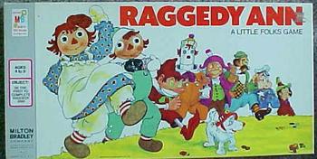 Raggedy Ann A Little Folks Game board game