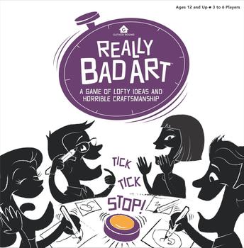 Really Bad Art board game