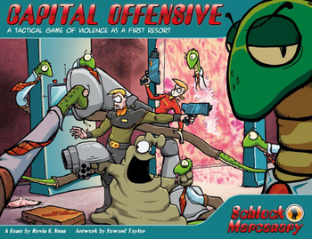 Schlock Mercenary: Capital Offensive board game